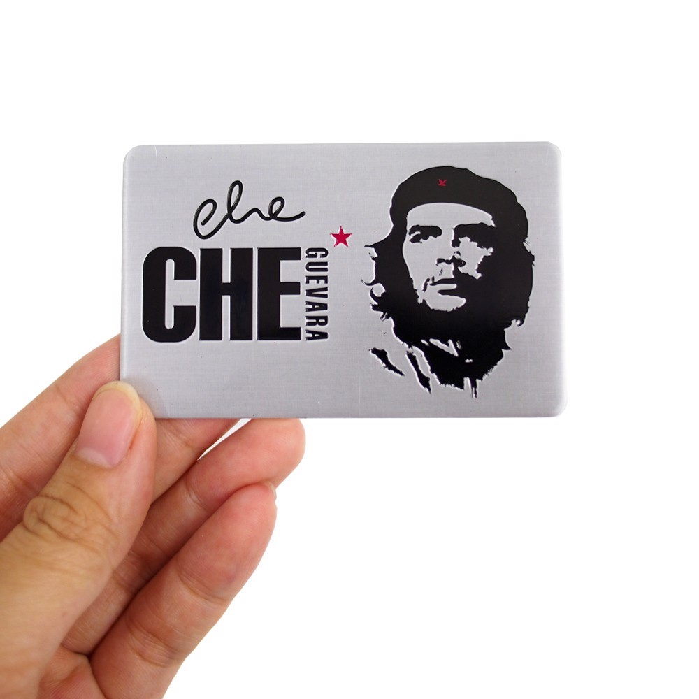 Set 2 Sticker hình dán Metal - Che Guevara
