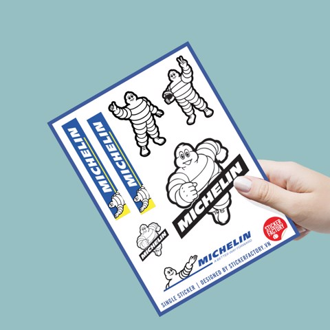 Michelin - Single sticker hình dán lẻ