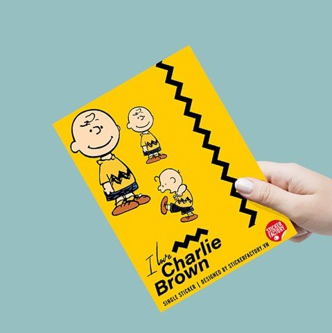 I Love Charlie Brown - Single Sticker hình dán lẻ