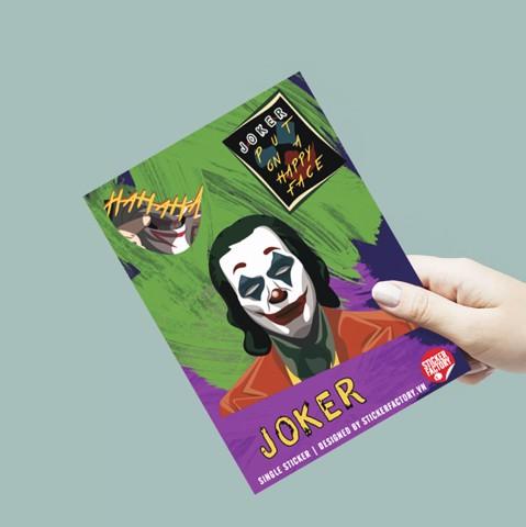 Joker - Single Sticker hình dán lẻ