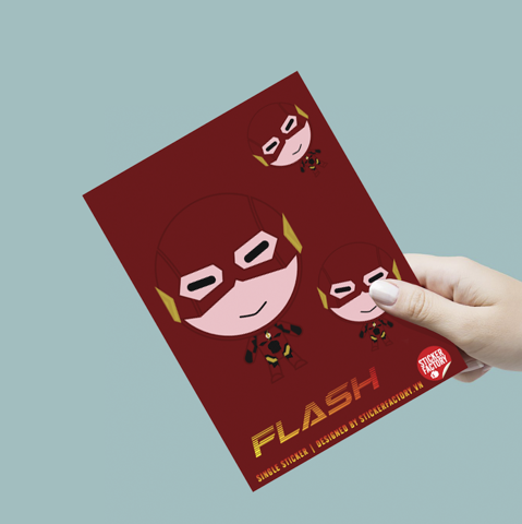 Flash - Single Sticker hình dán lẻ