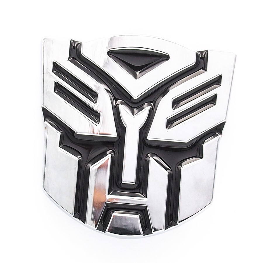 Sticker metal hình dán 3D Transformers - PROTECT the Earth