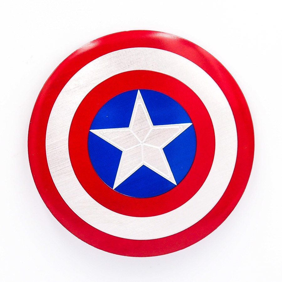 Sticker hình dán metal Captain America
