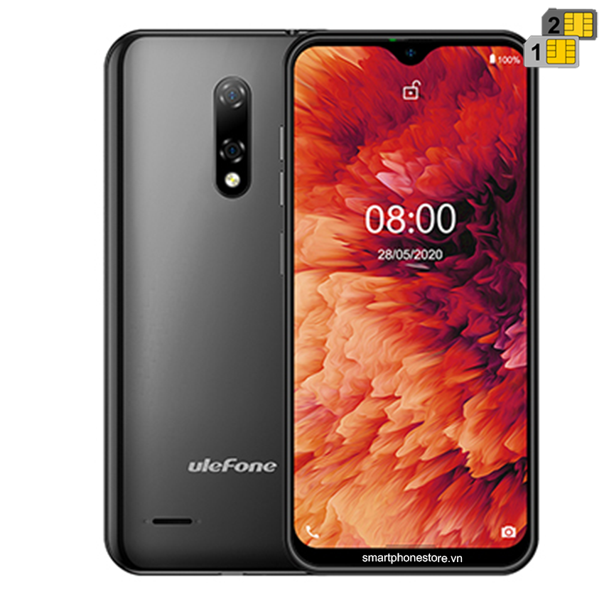 Ulefone Note 8P - Android10 Ram2GB Pin Trâu