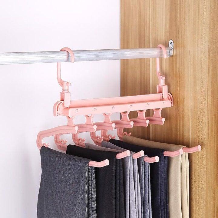 Móc treo quần áo đa năng chất liệu inox 6 tầng phơi đồ thông minh, giá –  Shop thời trang Nice