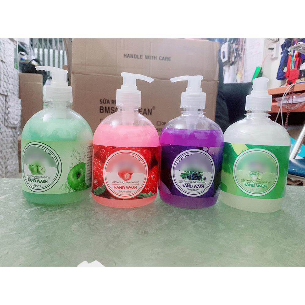 Bình nước rửa tay diệt khuẩn cao cấp có vòitiện dụng 500ml NiceShop - KD0175