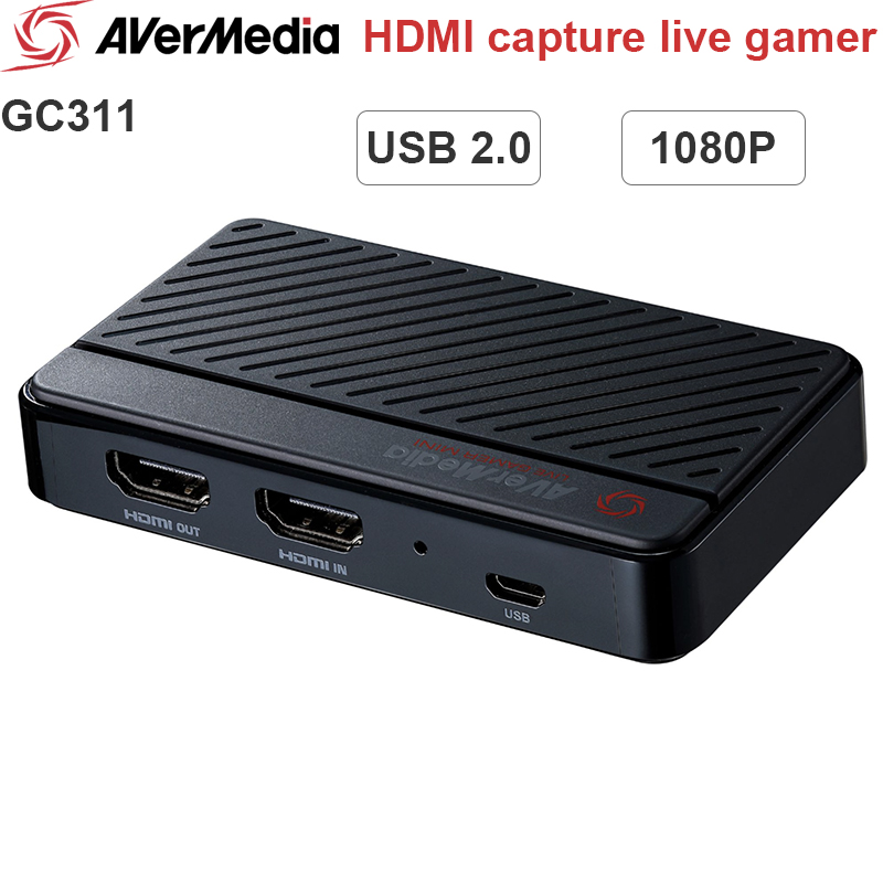 Card ghi hình Avermedia GC311 HDMI to USB 2.0 live streaming 1080P60fps