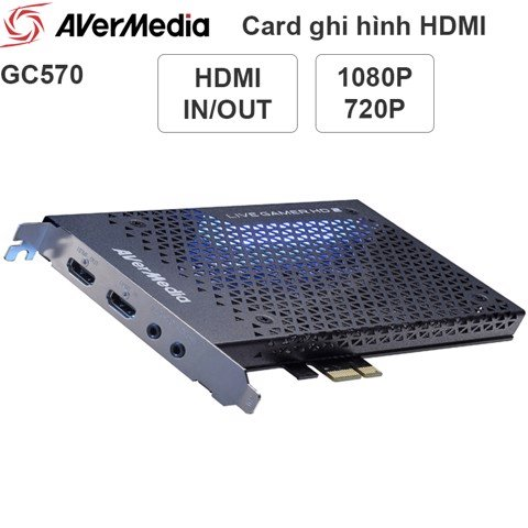 Card ghi hình HDMI AVerMedia GC570 Live Gamer HD2 Full HD 1080