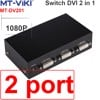 Bộ gộp DVI 4 vào 1 - Switch DVI 4 in 1 out MT-VIKI MT-DV401