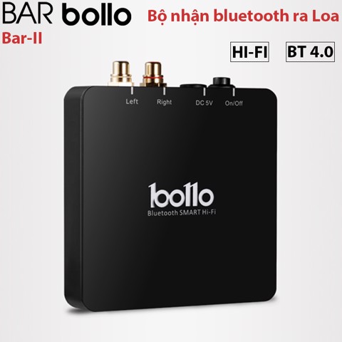 Đầu nhận Bluetooth cho Loa Amplifier loa hi-end Bollo BAR II