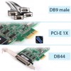 Card Moxa CP-104EL-A 4 Port RS232 PCI Express board | PCIe to 4 Port RS232