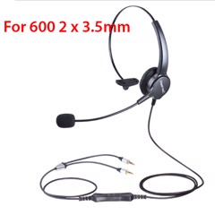 Tai nghe + Micro Hion 2 cổng 3.5mm | For 600