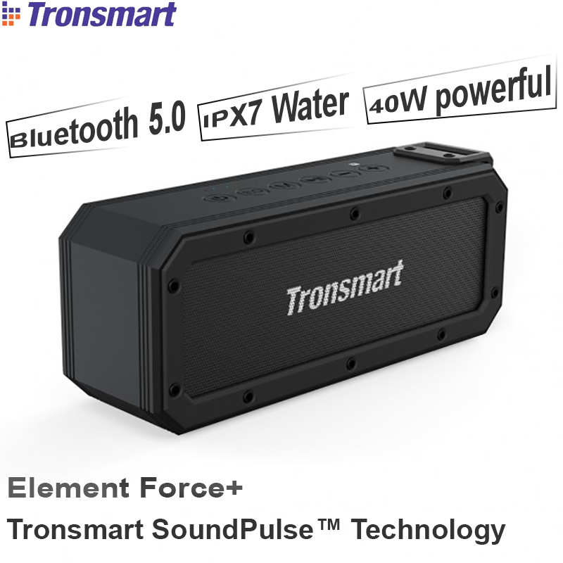 Loa bluetooth 5.0 NFC 40W chống nước IPX7 Tronsmart Element Force+ SoundPulse