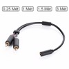Cáp Audio 3.5mm Female to 2RCA Male UGREEN mạ vàng 24K 0.25m | 1m | 1.5m | 2m/3m