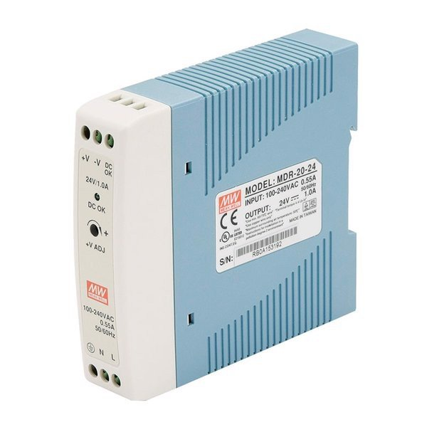 Nguồn DC Meanwell MDR-20-24