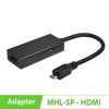 Cáp Micro USB to HDMI (MHL Adapter 5 pin) cho Samsung Sky HTC LG Note1...