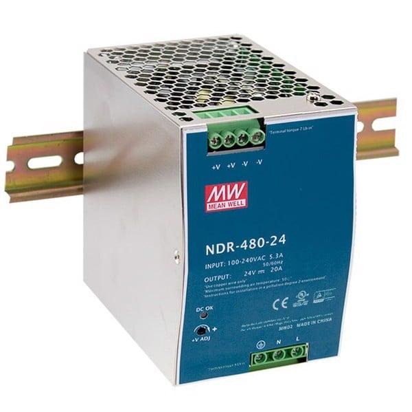 Nguồn công nghiệp 24V-20A meanwell NDR-480-24