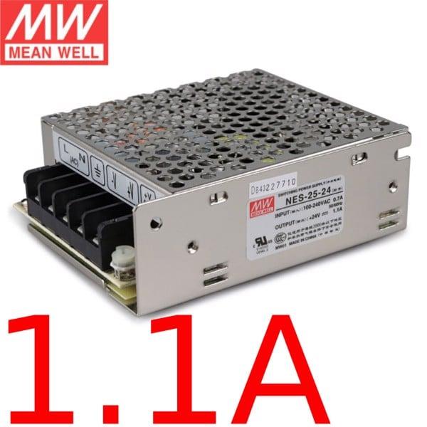 Nguồn DC Meanwell NES-25-24 24V 1.1A 25W