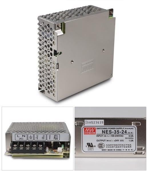 Nguồn DC LED Meanwell NES-35-24 24V 1.5A 35W