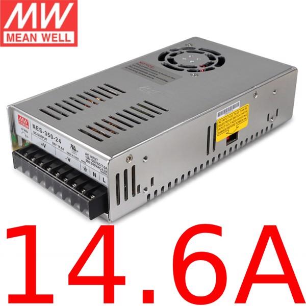Nguồn DC Meanwell NES-350-24 24V 14.6A 350W