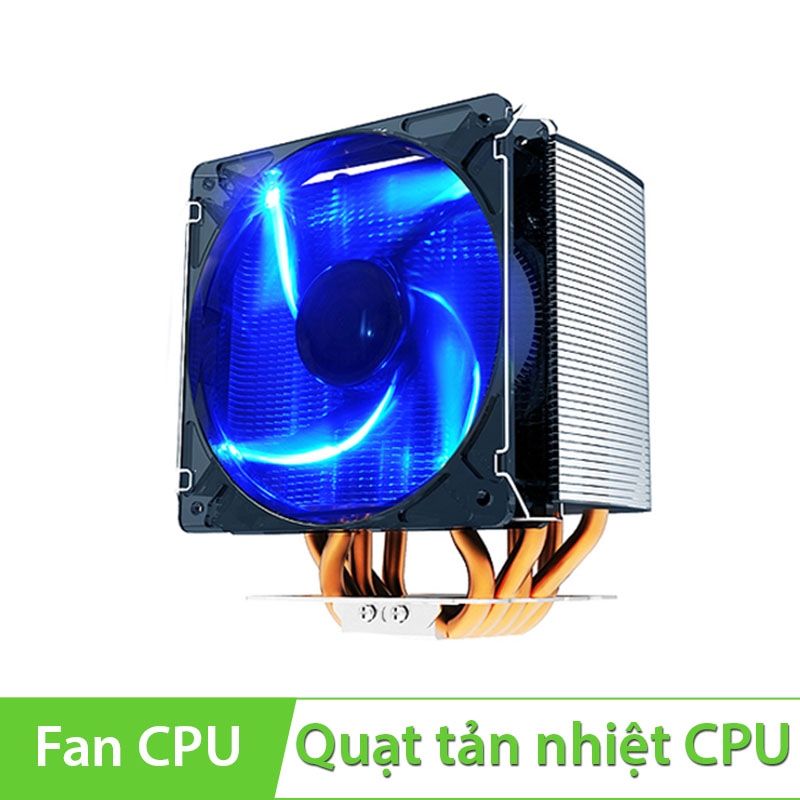 Quạt CPU PC Cooler S126 Fan 12cm dùng cho socket 775/ 1155/ 1156/ 1366/ 2011/AMD