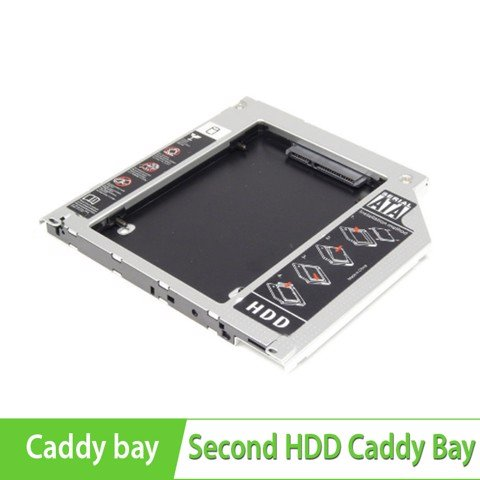 Second HDD Caddy Bay- Lắp ổ cứng thứ 2 cho Macbook qua khay CD 128mm*128mm*9.5mm