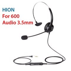 Tai nghe + Micro 3.5mm Hion For600 / Hion For 600 1 cổng 3.5mm