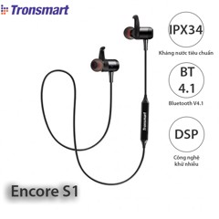 Tronsmart Encore S1 / Tai nghe bluetooth thể thao chống nước Tronsmart Encore S1   Product Recommend