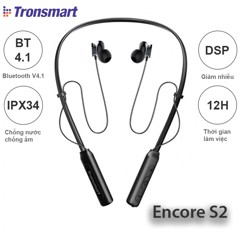 Tronsmart Encore S2 / Tai nghe bluetooth thể thao Tronsmart Encore S2   Product Recommend