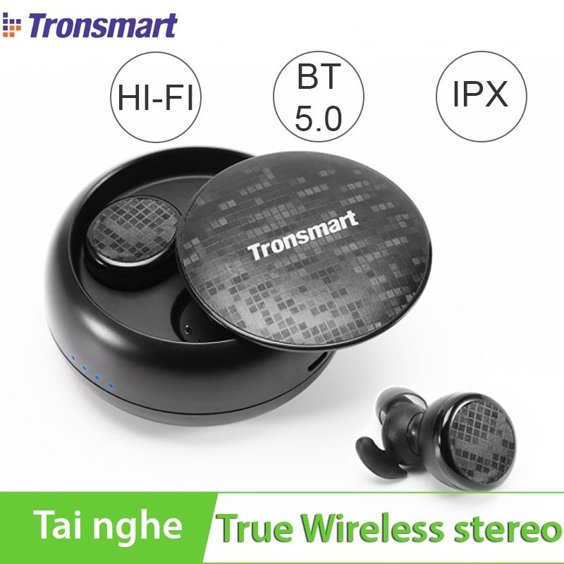 Tai nghe bluetooth True Wireless Tronsmart Encore Spunky Buds