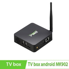 Android TV Box RKM MK902-8Gb lõi tứ Quad Core 1.6Ghz- Ram 2Gb, Rom 8Gb, Camera 5MP, Bluetooth, Miracast chính hãng