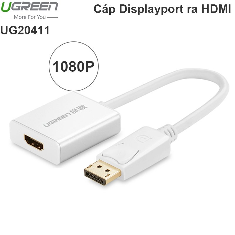 Displayport to HDMI Female 20cm Ugreen 20411