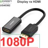 Display port to HDMI adapter UGREEN 40362 - Hỗ trợ full HD 1920*1080P
