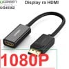 Display port to HDMI adapter UGREEN 40363 - Hỗ trợ 4K*2K@30Hz