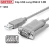 Cáp USB to RS232 1.5m Unitek Y-1050