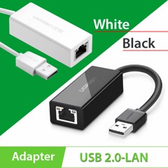 Cáp USB to LAN 10/100 Ugreen 20253 | 20254