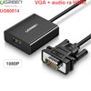 VGA Audio 3.5mm sang HDMI converter 1080P Ugreen 60814