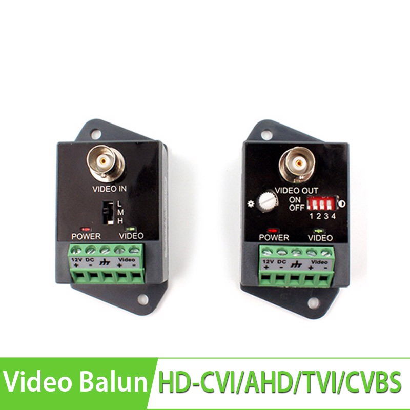UTP Video Balun HD-CVI/AHD/TVI/CVBS YJS-351HD 2400m