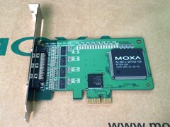 Card PCI-E 1X to 8 Port RS232 Moxa CP-168EL