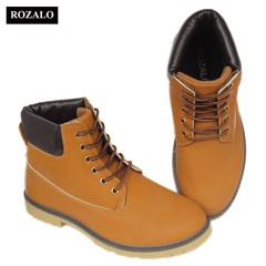 Giày boot nam cổ cao chống thấm Rozalo RM6604