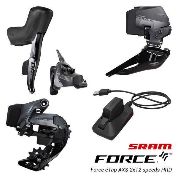GROUPSET FORCE ETAP AXS 2X HRD