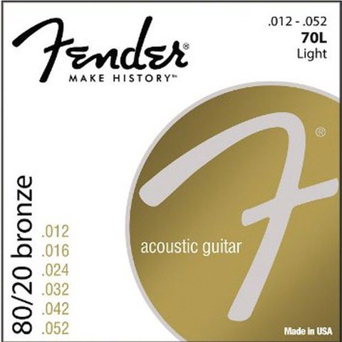 FENDER 0730070403 ACOUSTIC GUITAR STRINGS
