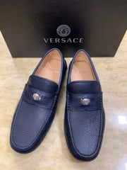 Giày nam Versace caff leather loafers