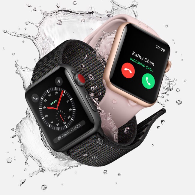 Apple Watch Series 3, 38mm - 42mm