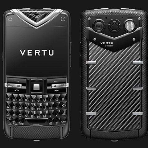 Vertu Quest Black Carbon Fibre