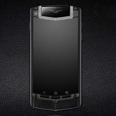 Vertu Ti Pure Black Diamond Trim