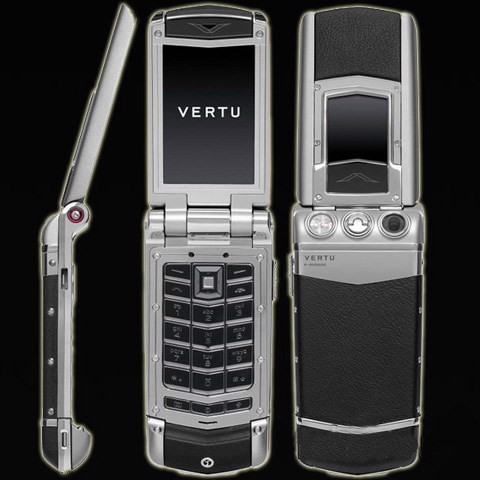 Vertu Ayxta Black Leather Ceramic Keys