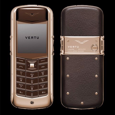 Vertu Constellation Chocolate Red Gold