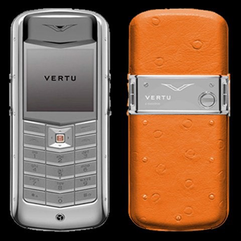 Vertu Constellation Ostrich Orange