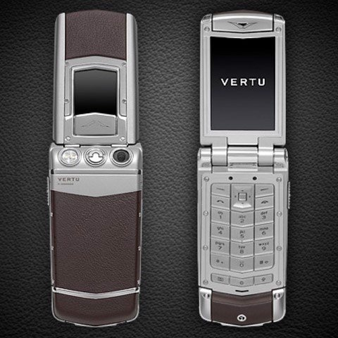 Vertu Ayxta Brown Leather